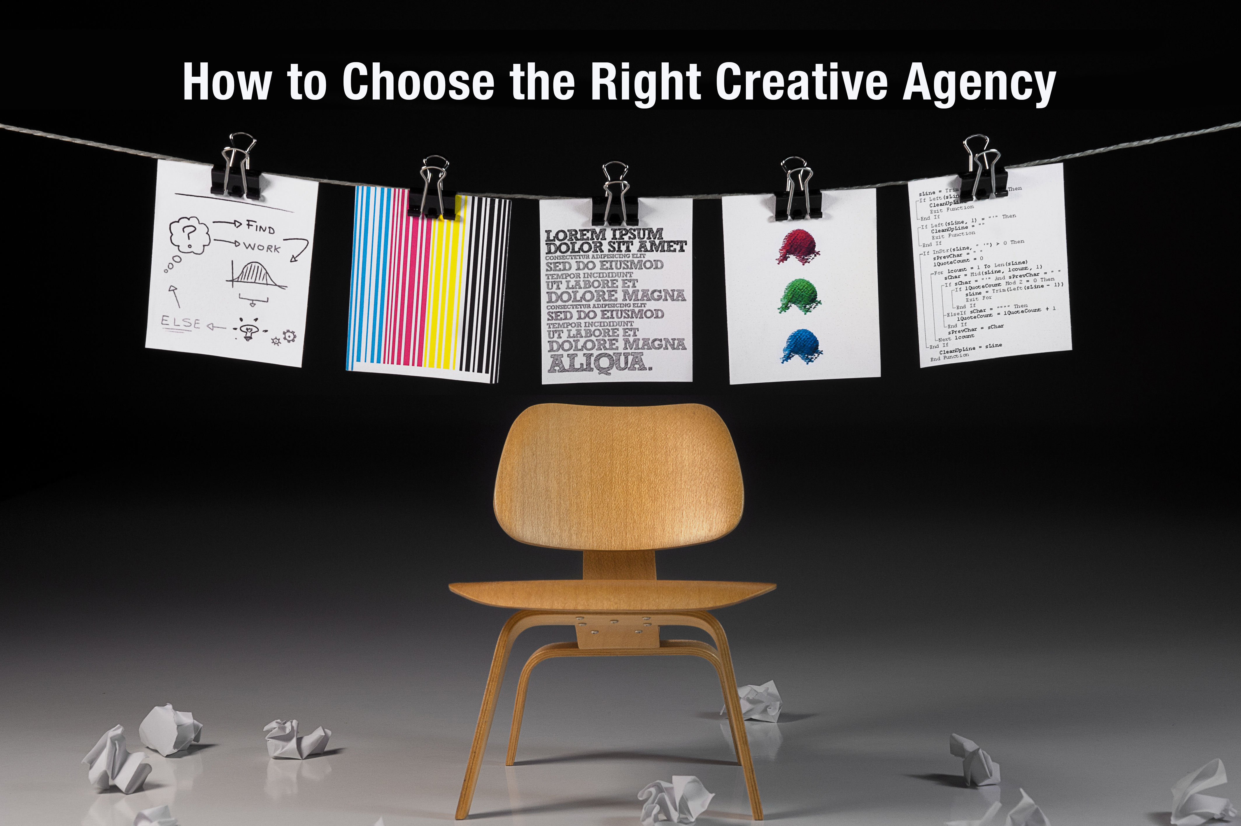 How to Choose the Right Creative Agency